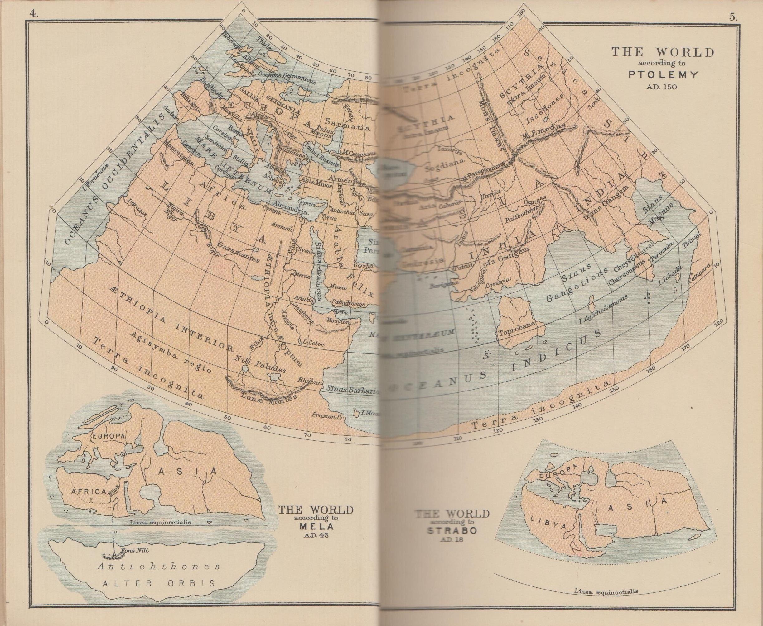 El Mundo de Ptolomeo