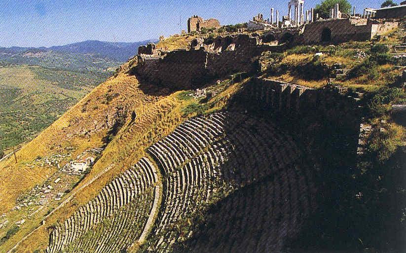 La acrópolis de Pérgamo en el mundo helenistico 25
