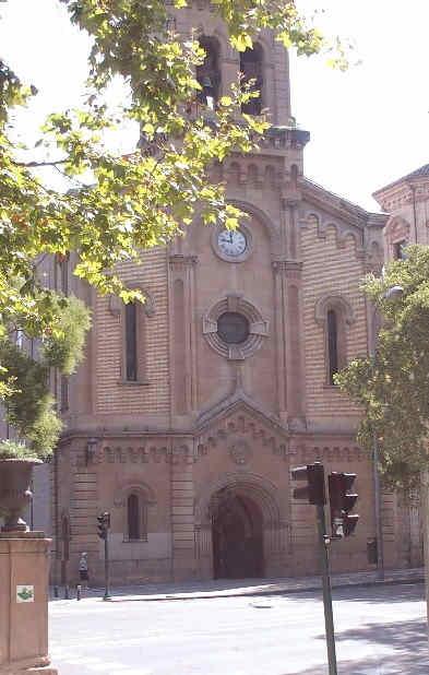 Pamplona 1900 Iglesia de San Lorenzo 2