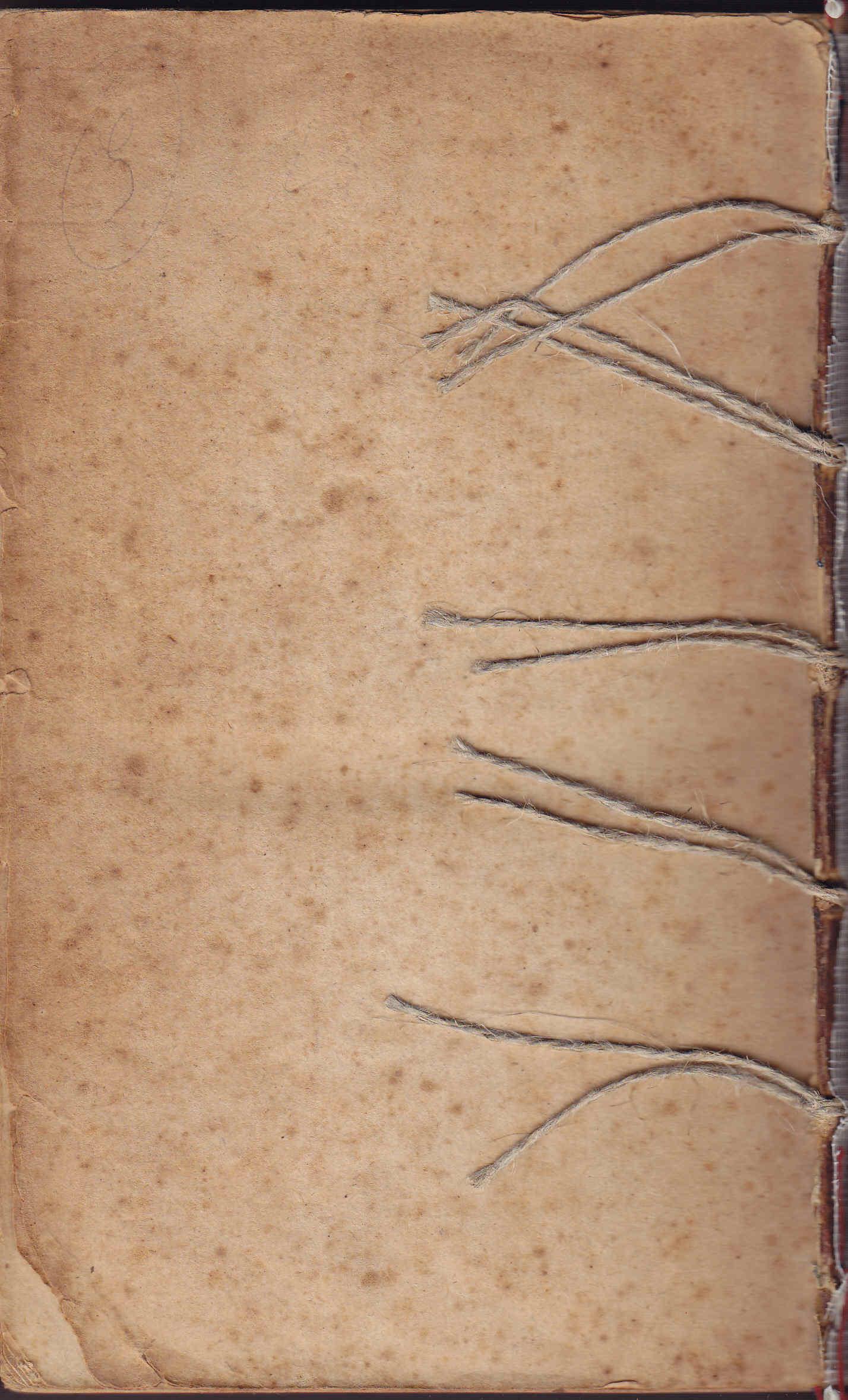 Restauración de libro antiguo y Amiano Marcelino