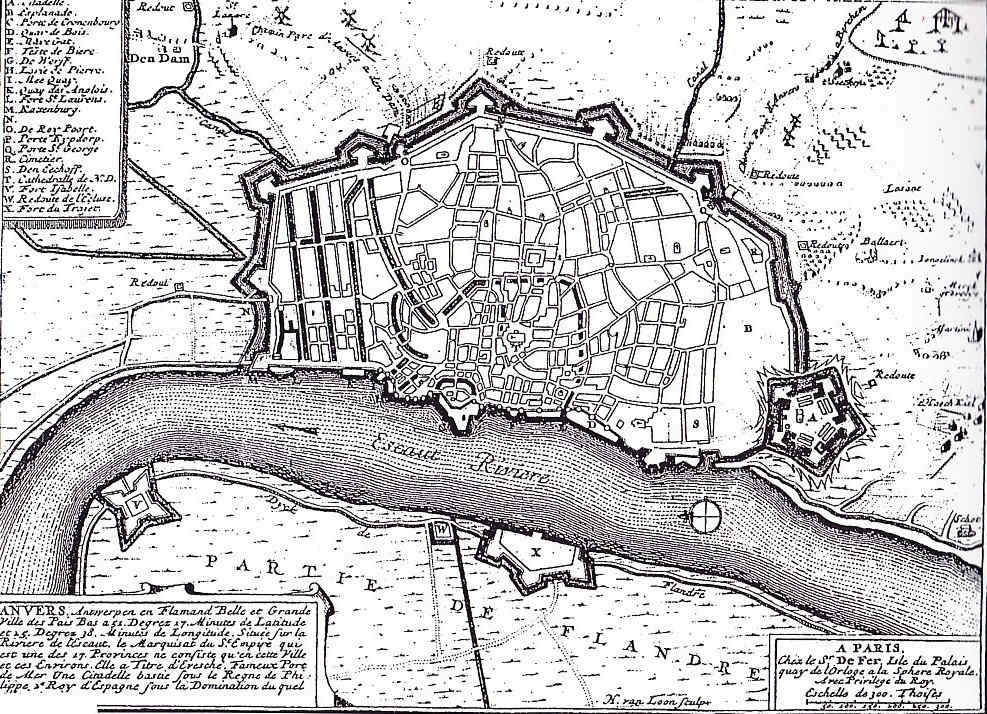 A demoler murallas Milán y Amberes