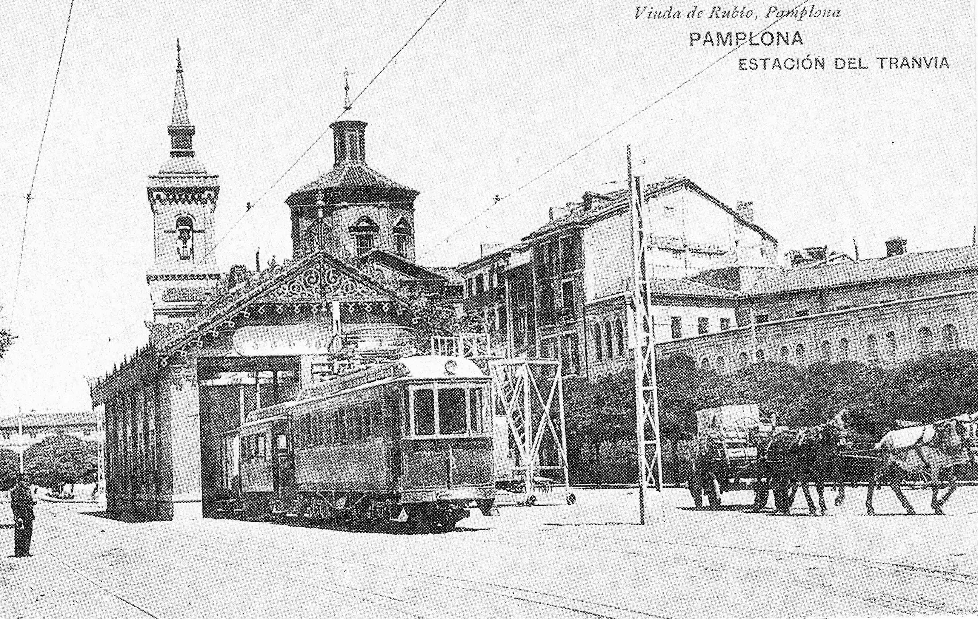 Pamplona 1900 Iglesia de San Lorenzo 3