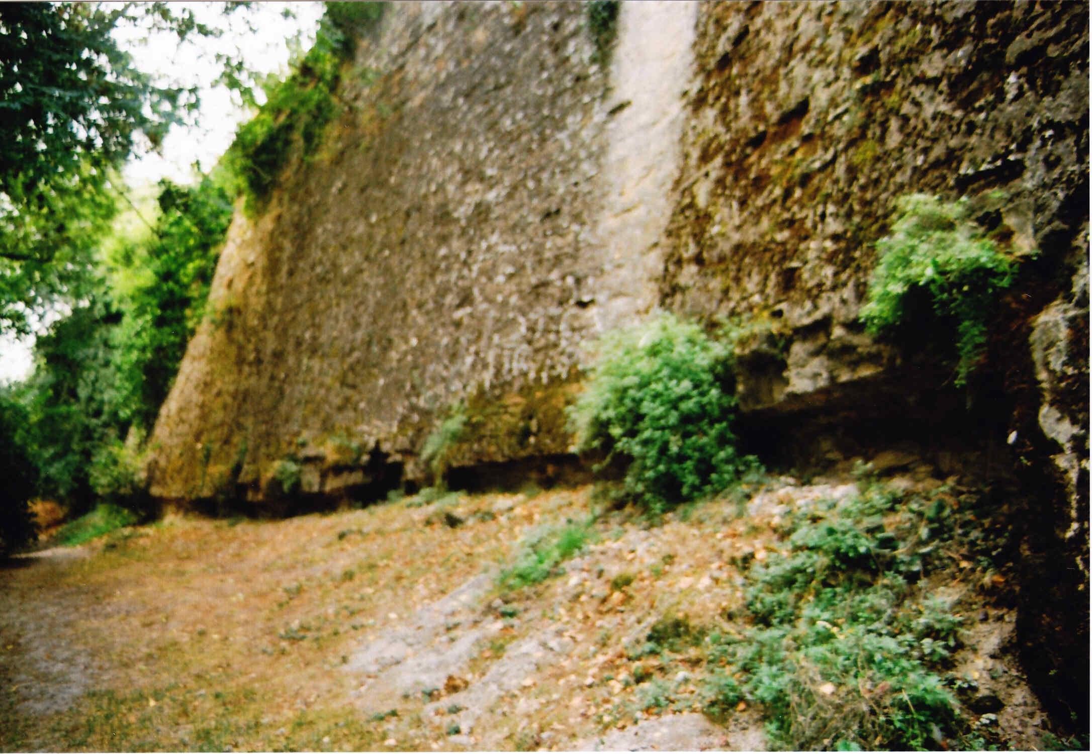 Paseo por las murallas de Pamplona El frente Este