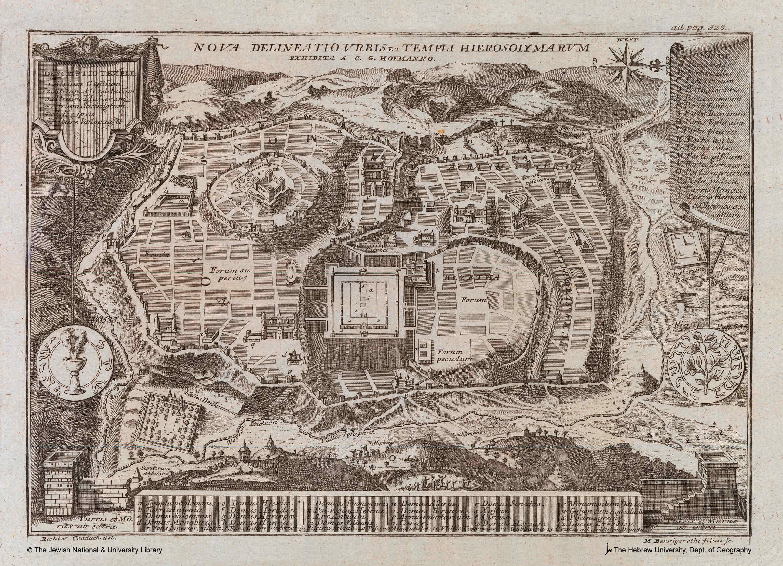 Jerusalem mapas imaginarios Mundo helenístico 52