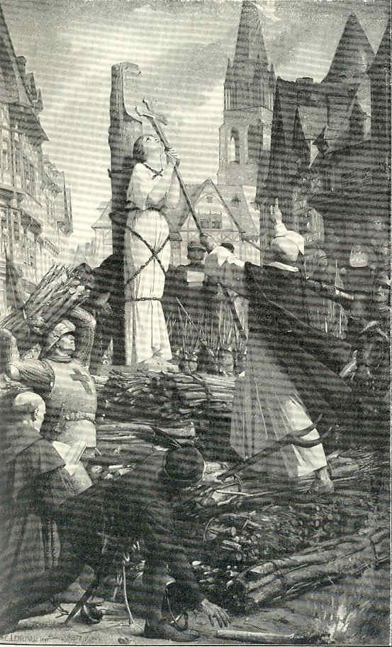 El nacimiento de París 15 Muerte de Juana de Arco