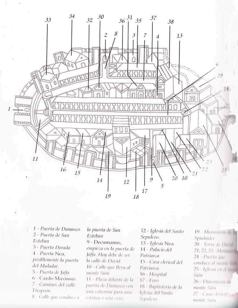 Jerusalem mapas Mundo helenístico 51