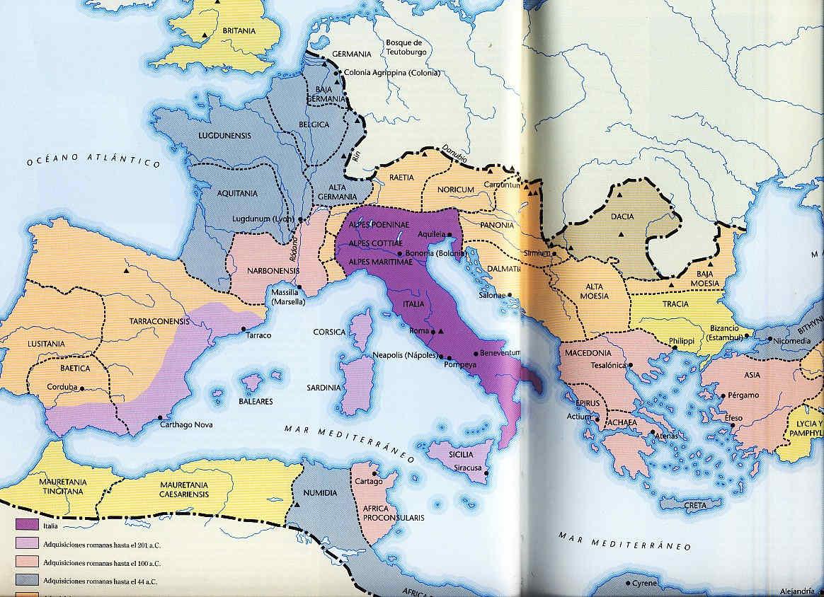 El nacimiento de París 2 La invasión de los Helvecios