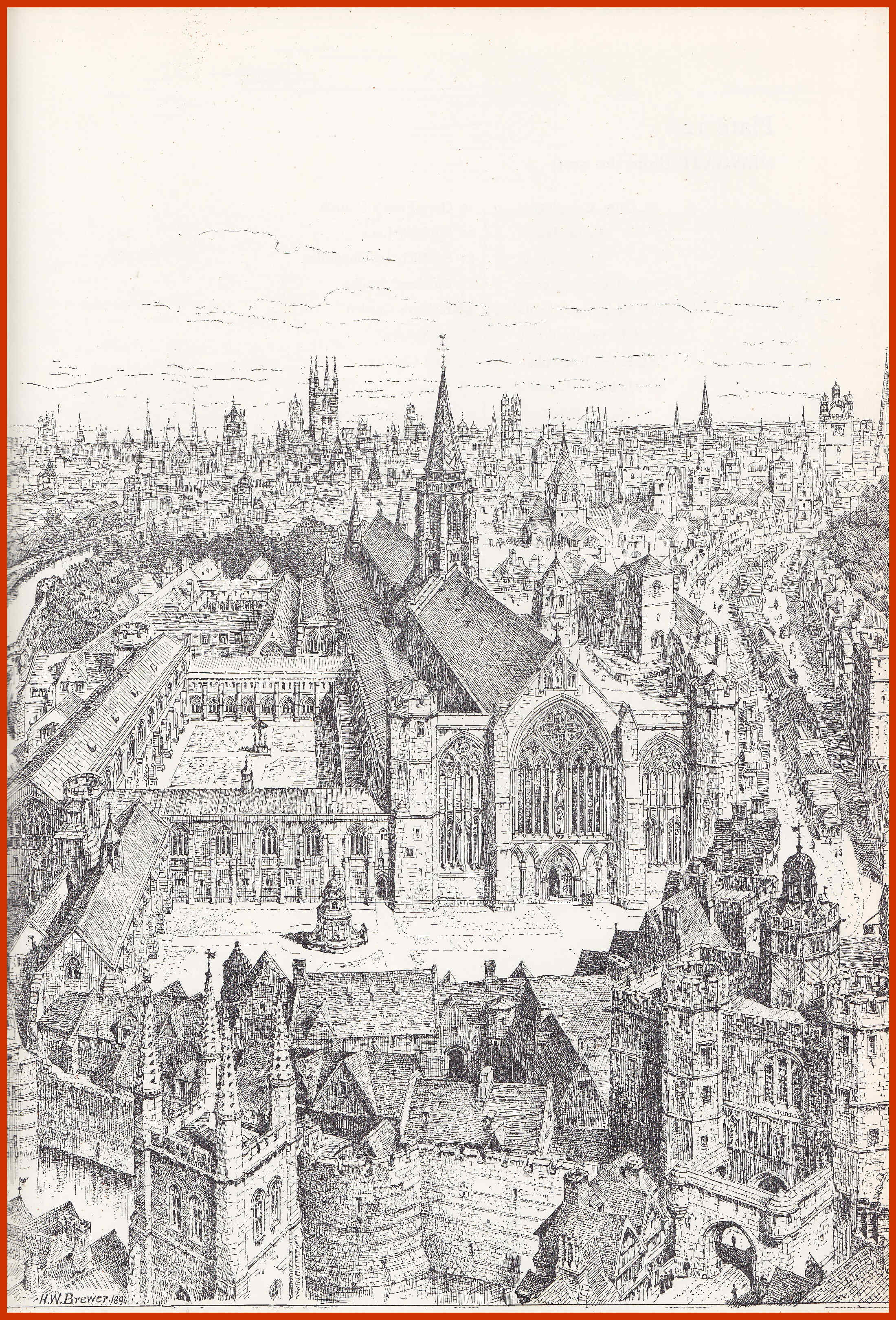 Paternoster Row en 1561