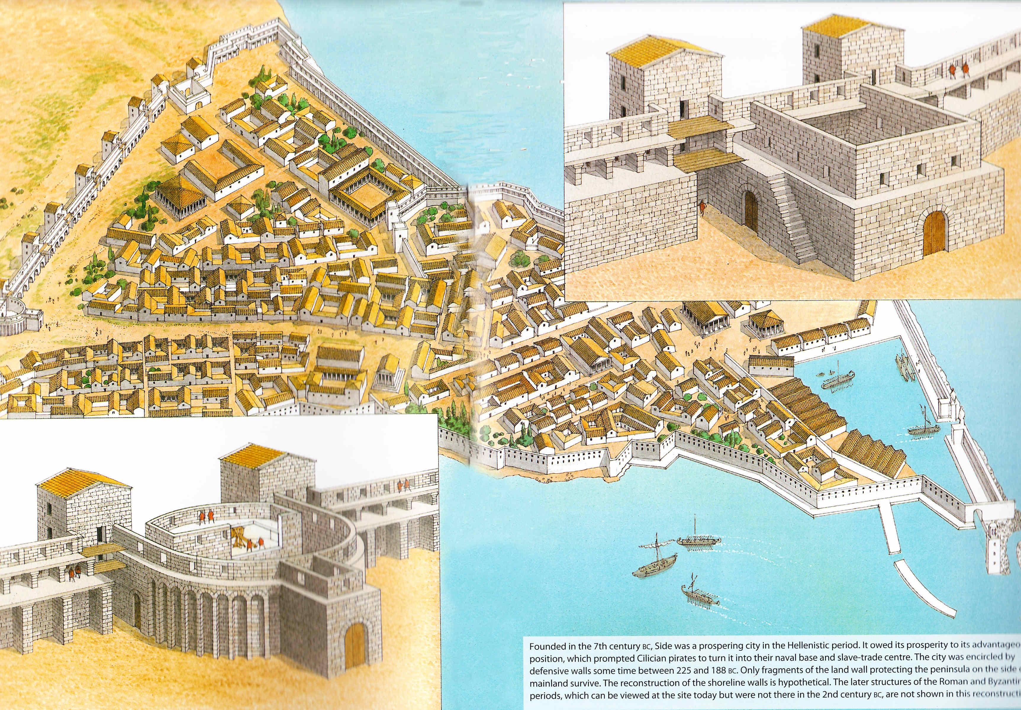 Egipto Antiguo 72 Llegada de Cleopatra a Sidón Año 48