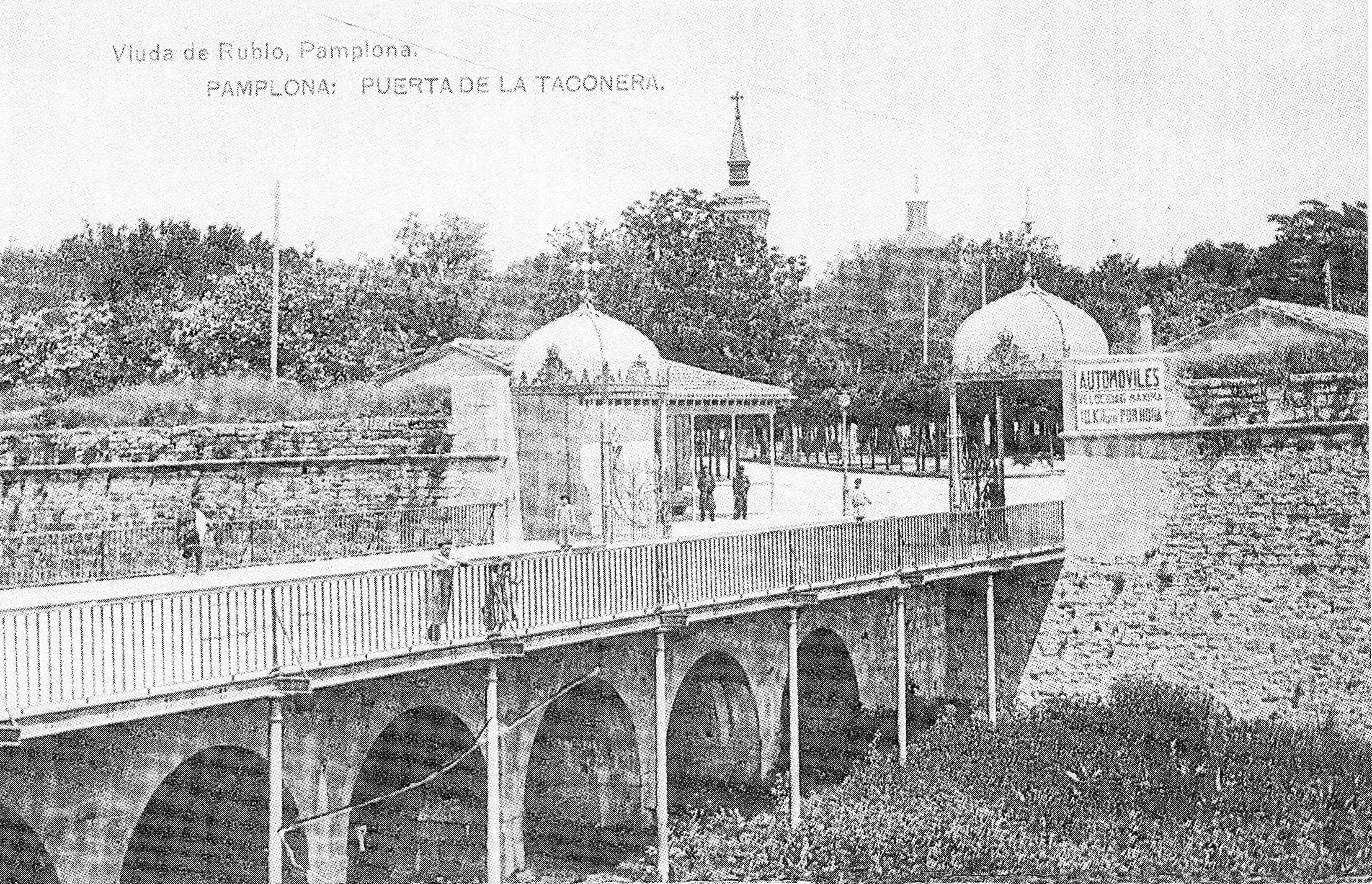 Pamplona 1900 La Taconera 5