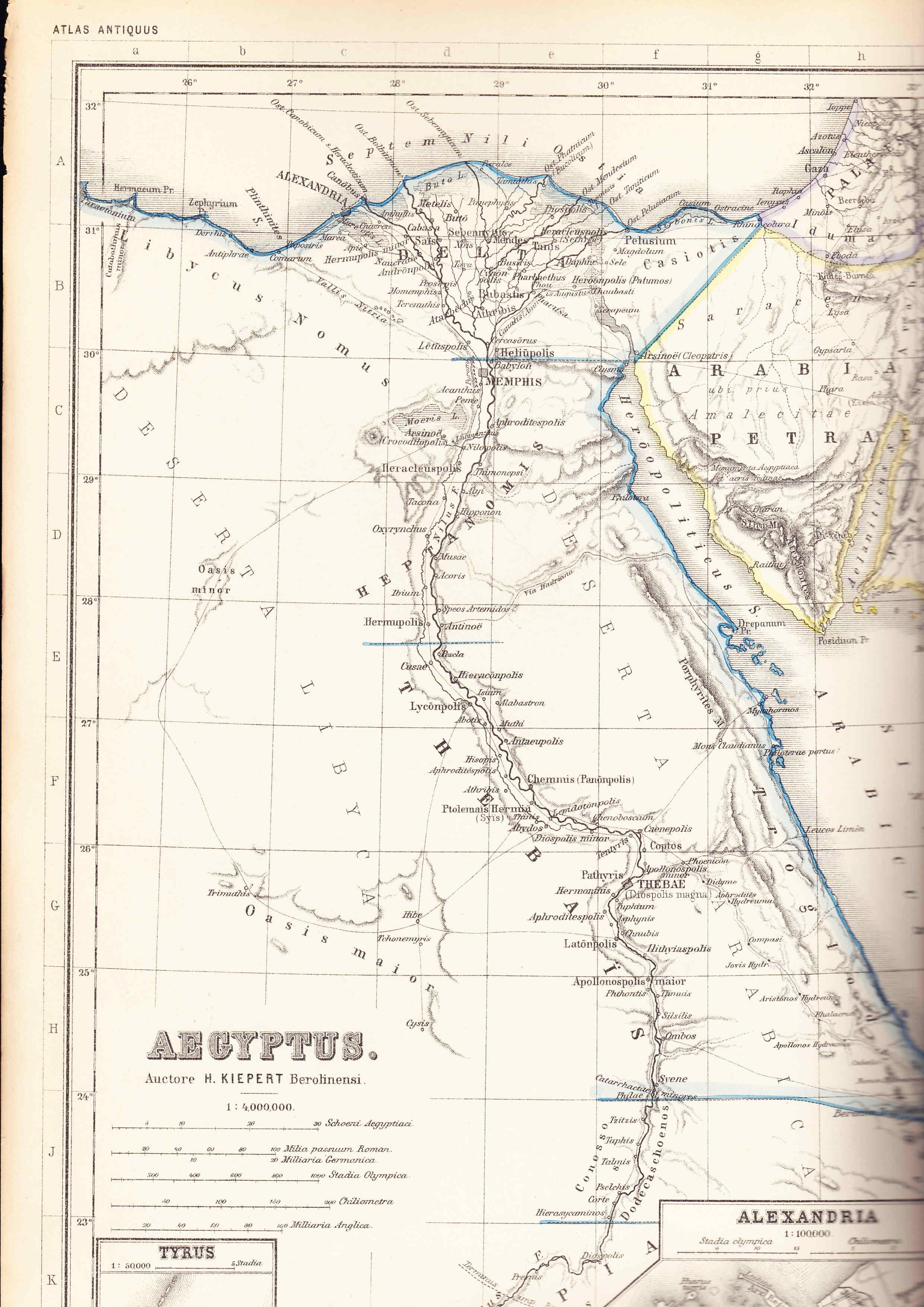 Egipto antiguo 32 y Ptolomeo IV Filopator 3