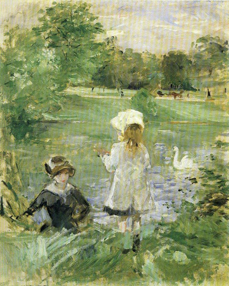 Berta Morisot Serie vida de Claude Monet 21 Pintura 186