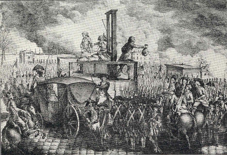 París 45 Luís XIV y Maria Antonieta ejecutados Danton Marat