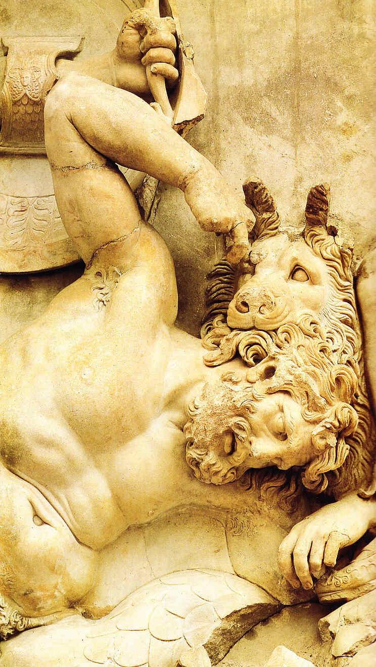 El Altar de Zeus de Pérgamo Mundo helenístico 40