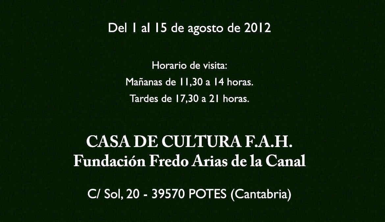 Lozano Enríquez en Potes del 1 al 15 de Agosto