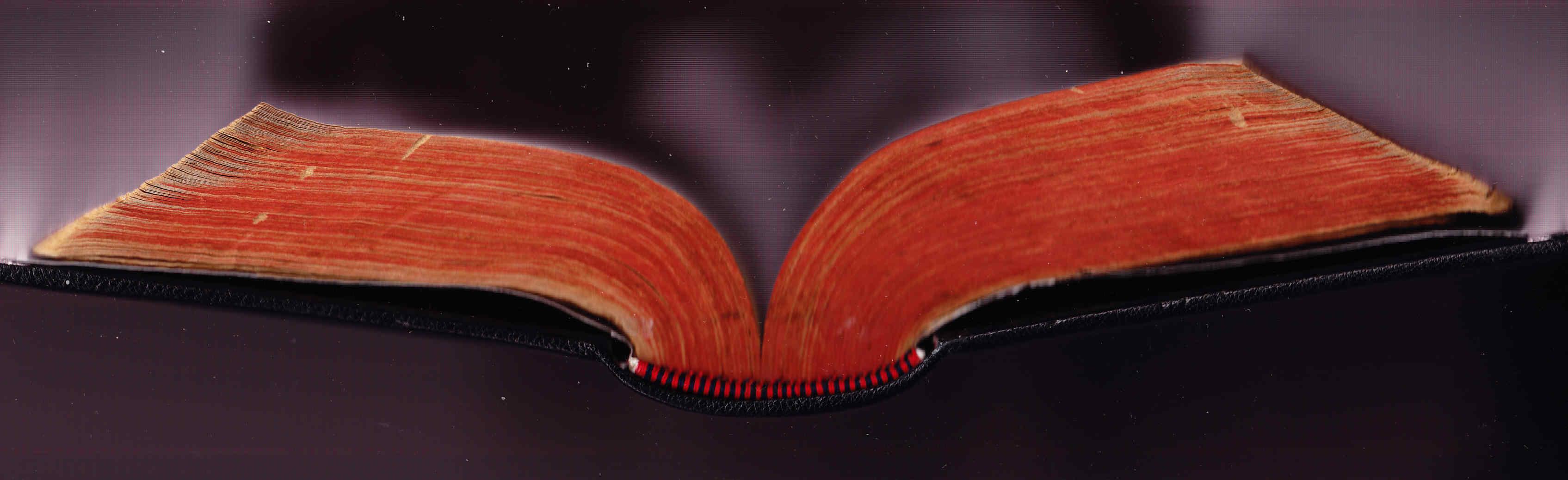 Restauración de libro antiguo y Amiano Marcelino terminado