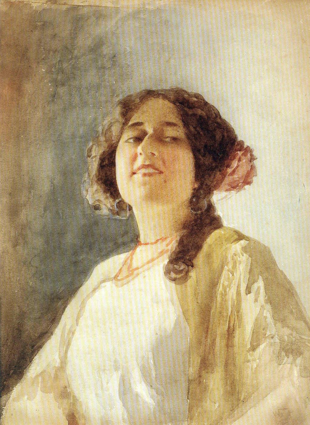 Wssel de Guimbarda y la Acuarela 3 La Pintura 158
