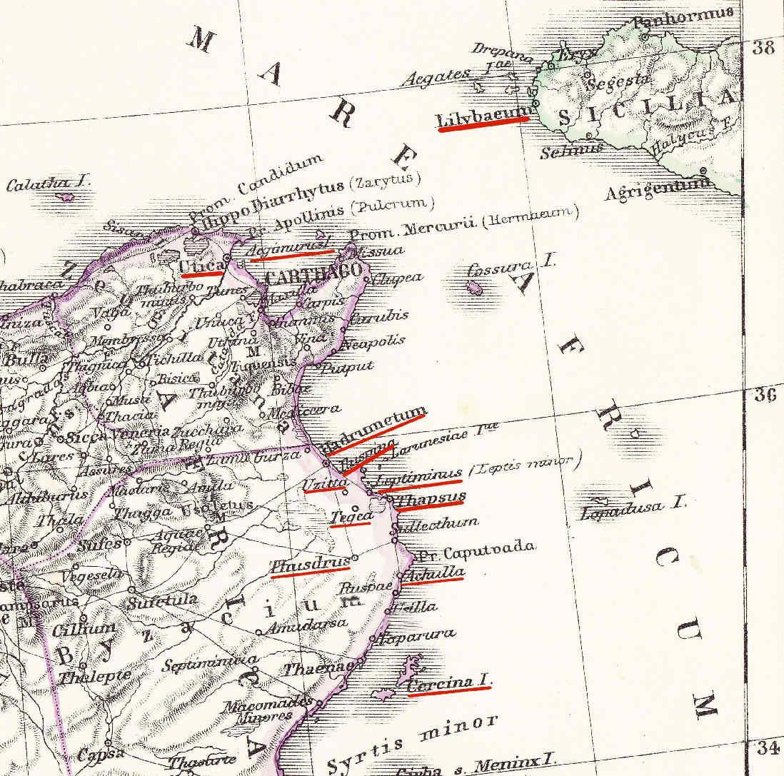 Egipto Antiguo 160 Consecuencias de la batalla de Thapso