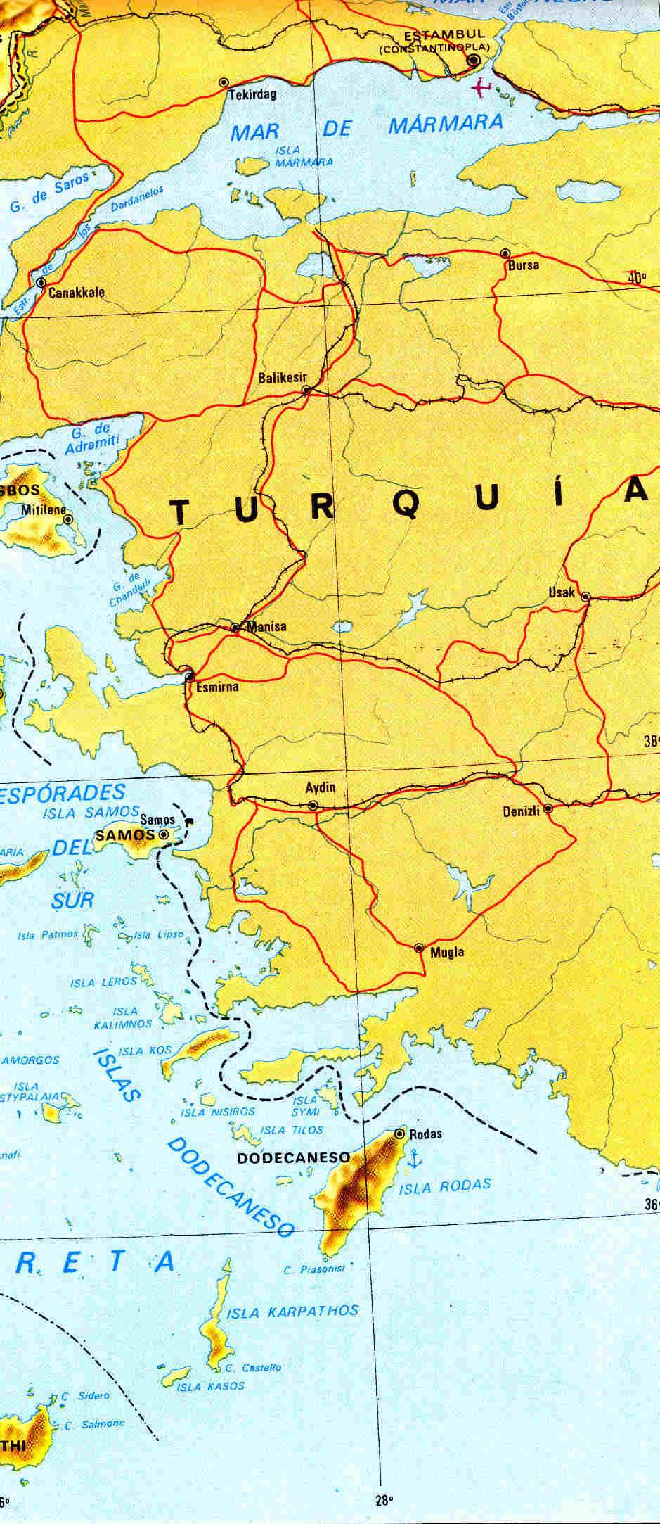 Tiempos oscuros y difícil geografía de Grecia clásica 1