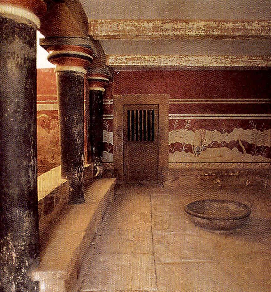 El Palacio de Cnossos La civilización minoica Grecia clásica 4