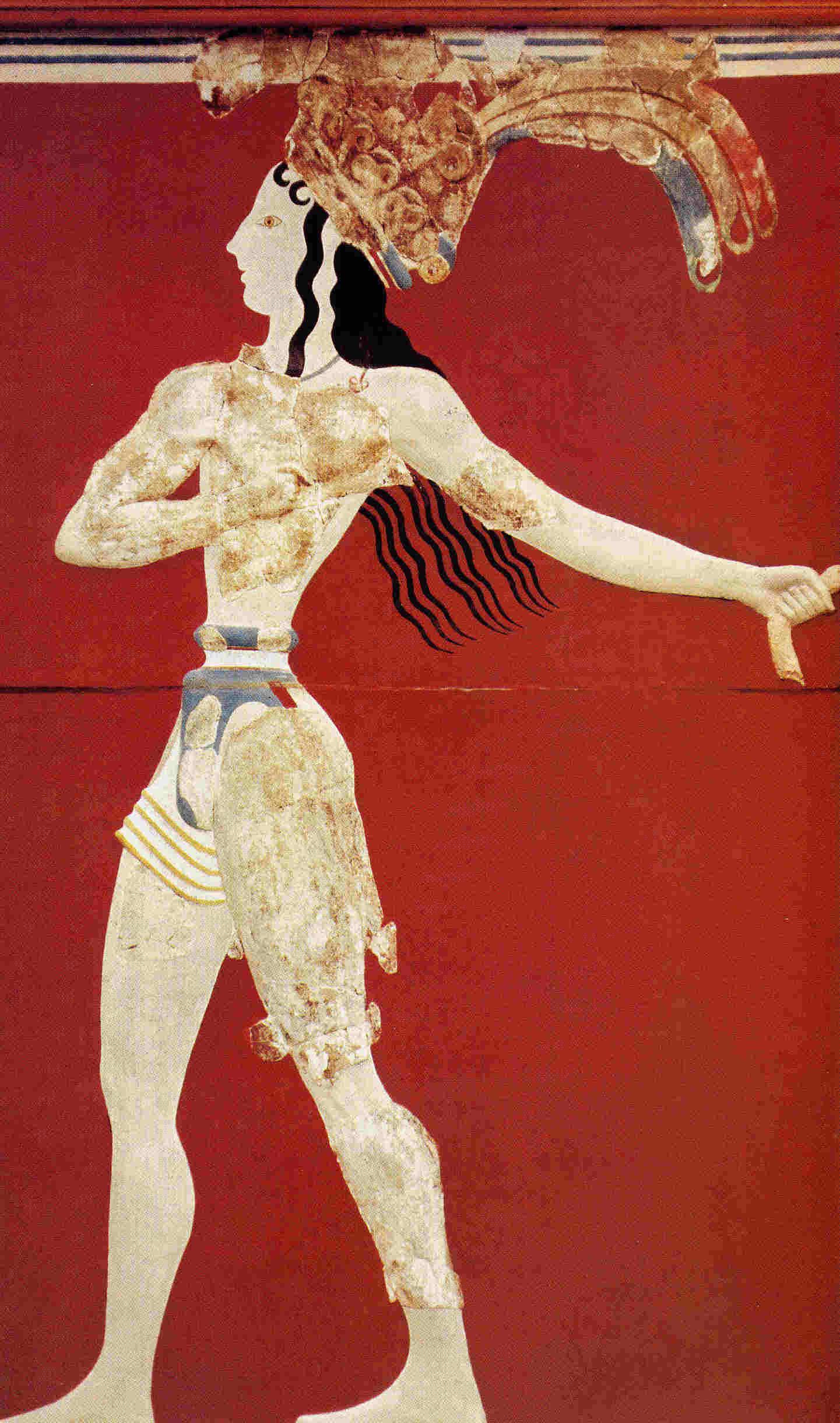 Palacio de Cnossos y Akrotiri Civilizacion minoica Grecia clásica 5