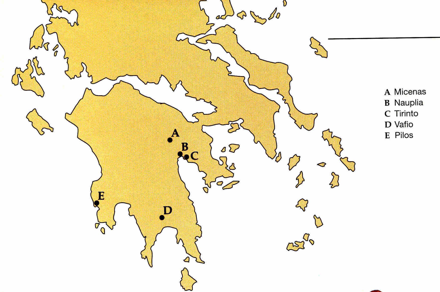 Micenas en Grecia clásica 9