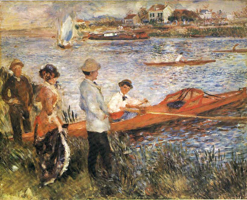La Pintura 73 El Impresionismo 19 Renoir Impresionista y 3