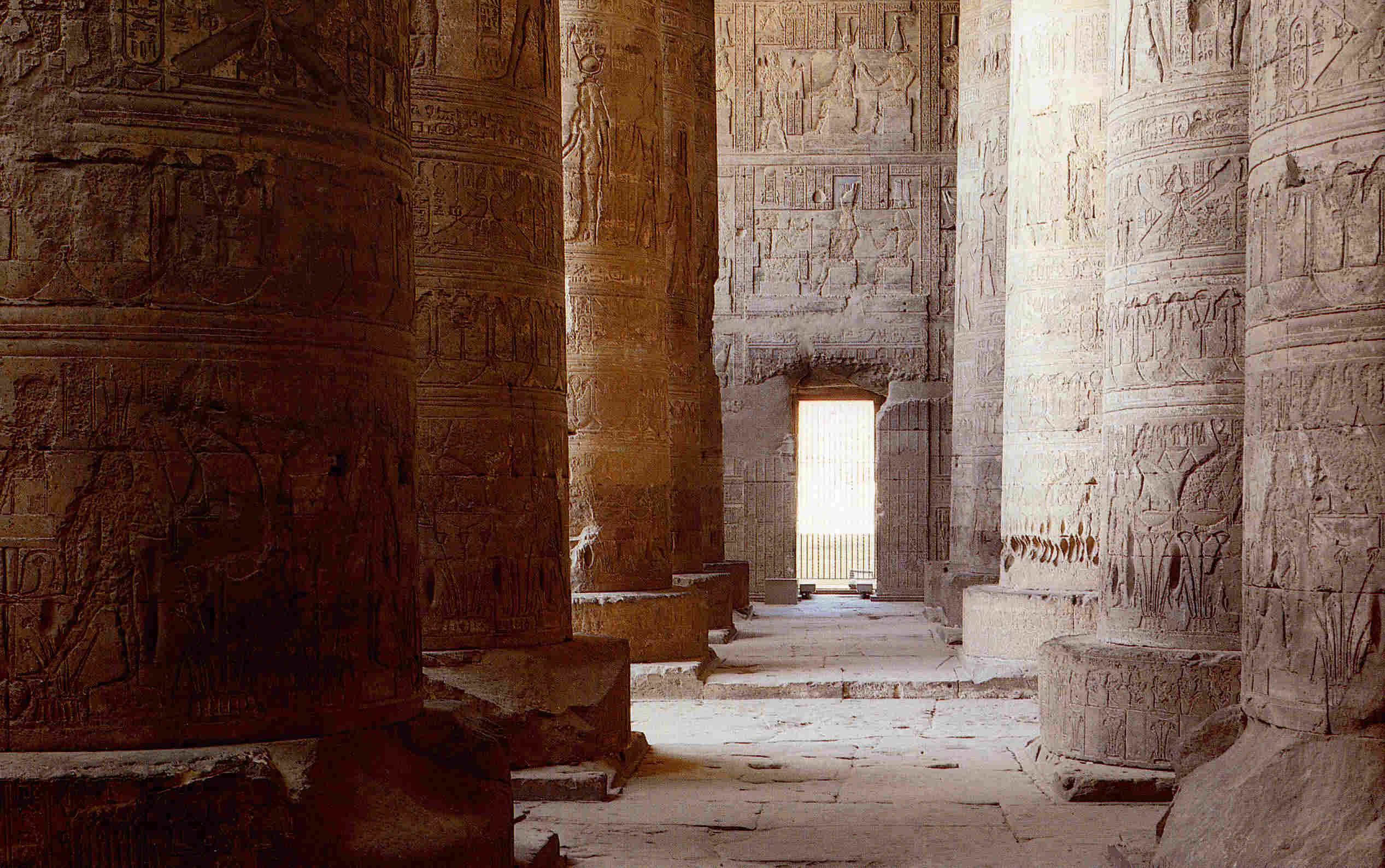 Templos ptolemaicos b Dendera