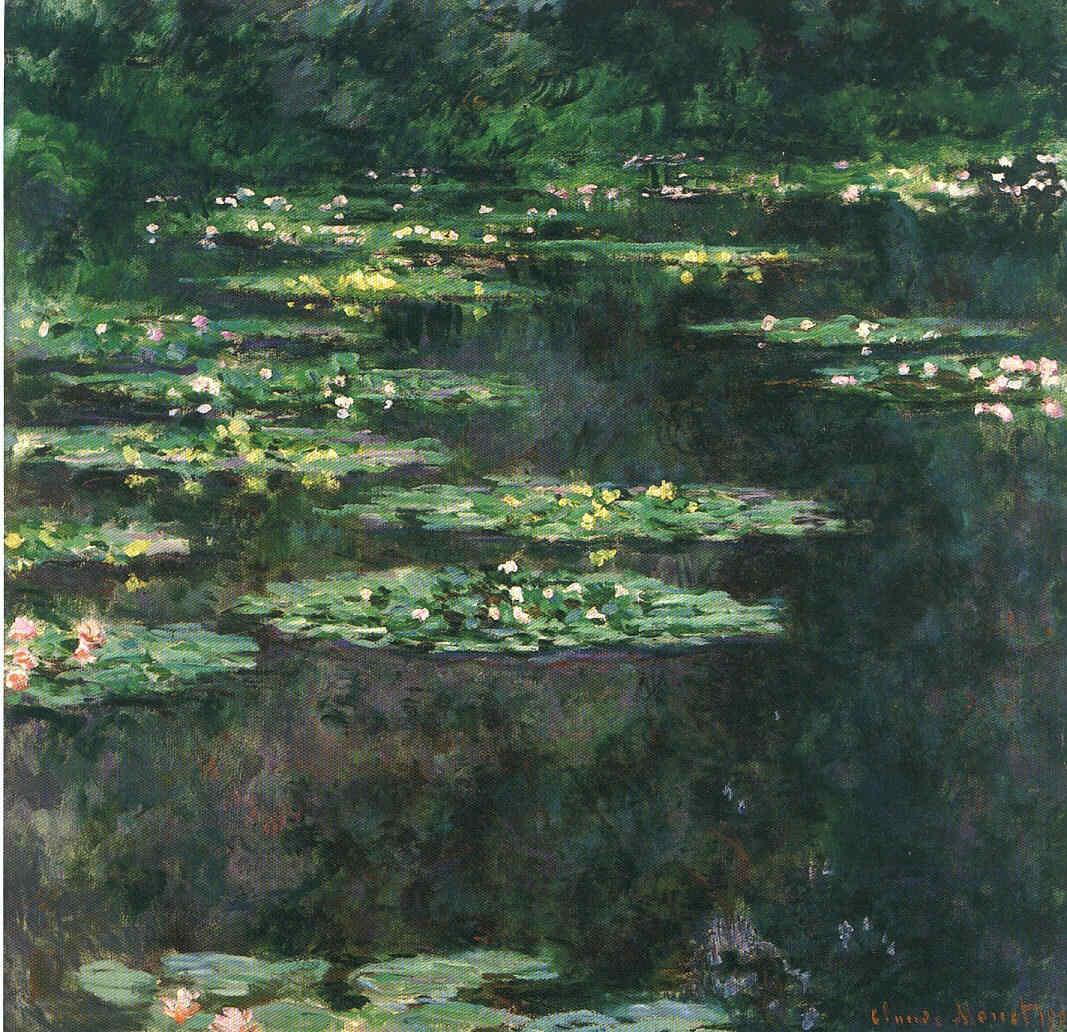 La Pintura 67 Monet y las series Cabeza del movimiento