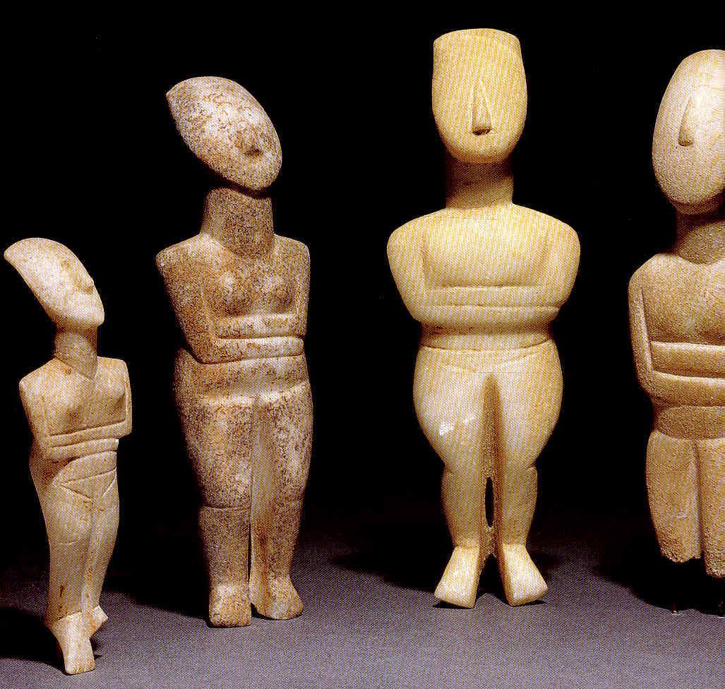Cultura cicládica y vaso campaniforme 1 Grecia clásica 26