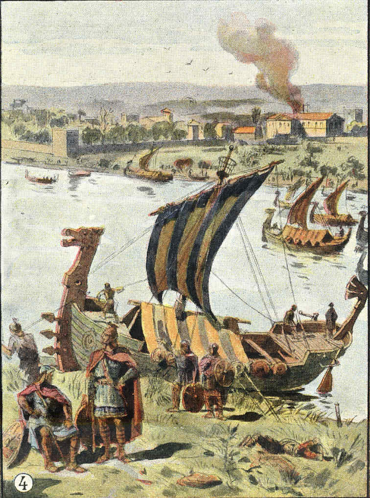 París 7 sitiada por vikingos Carlomagno El final carolingio