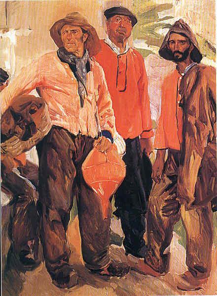 Joaquín Sorolla Cuarta etapa Pintor internacional La Pintura 100