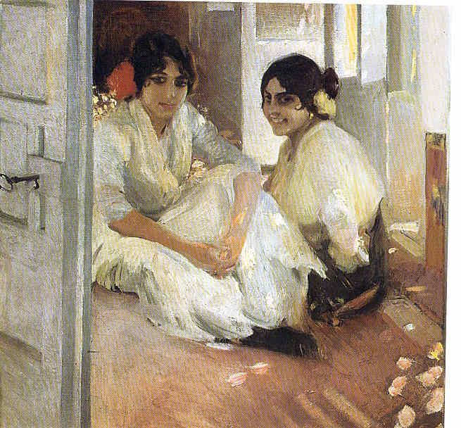 Joaquín Sorolla Compaginando la Hispanic con la Pintura 101