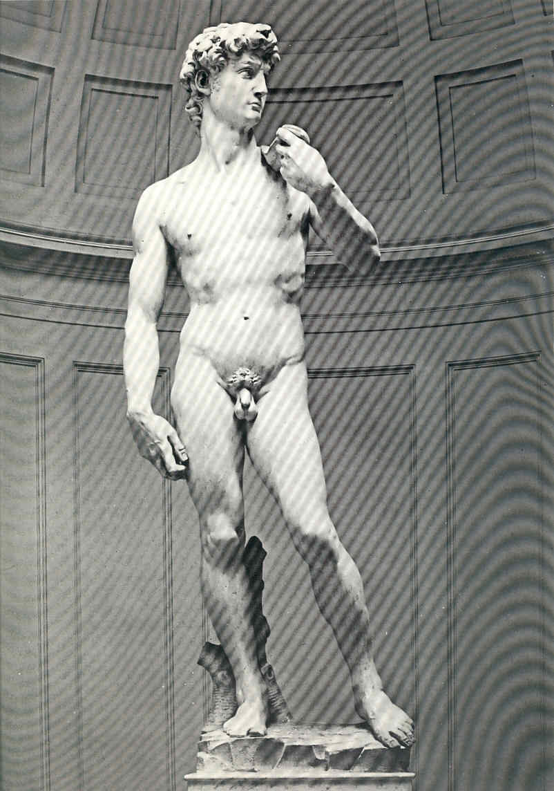Pintura 25 Las esculturas de Miguel Ángel
