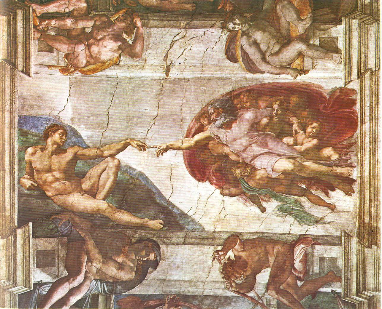 Pintura 27 Despidiéndonos de Miguel Ángel