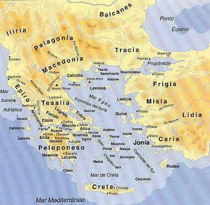 Los vecinos de Grecia en la Grecia clásica 81