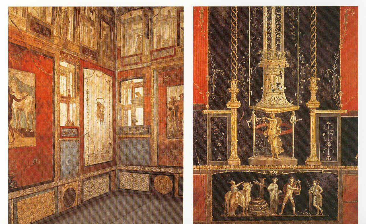 La Pintura 13 Pompeya y la Pintura realista