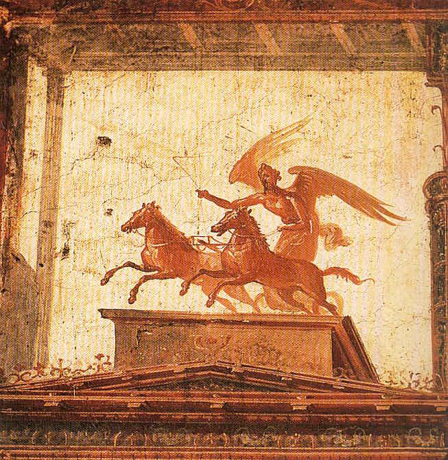 Pintura 10 Sirmione Herculano y el Vesubio