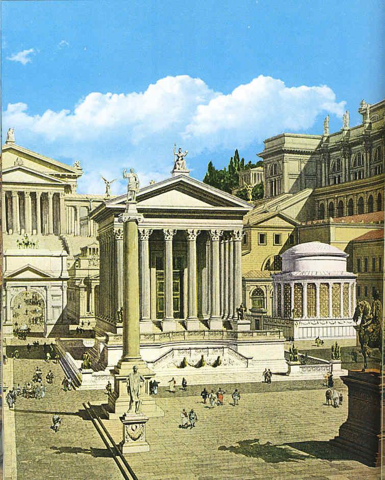 Pintura 16 Una corta visita a la Roma imperial
