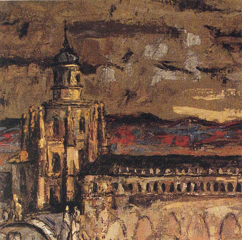 Jose María Ascunce Paisaje Pintores navarros 16 Pintura 150