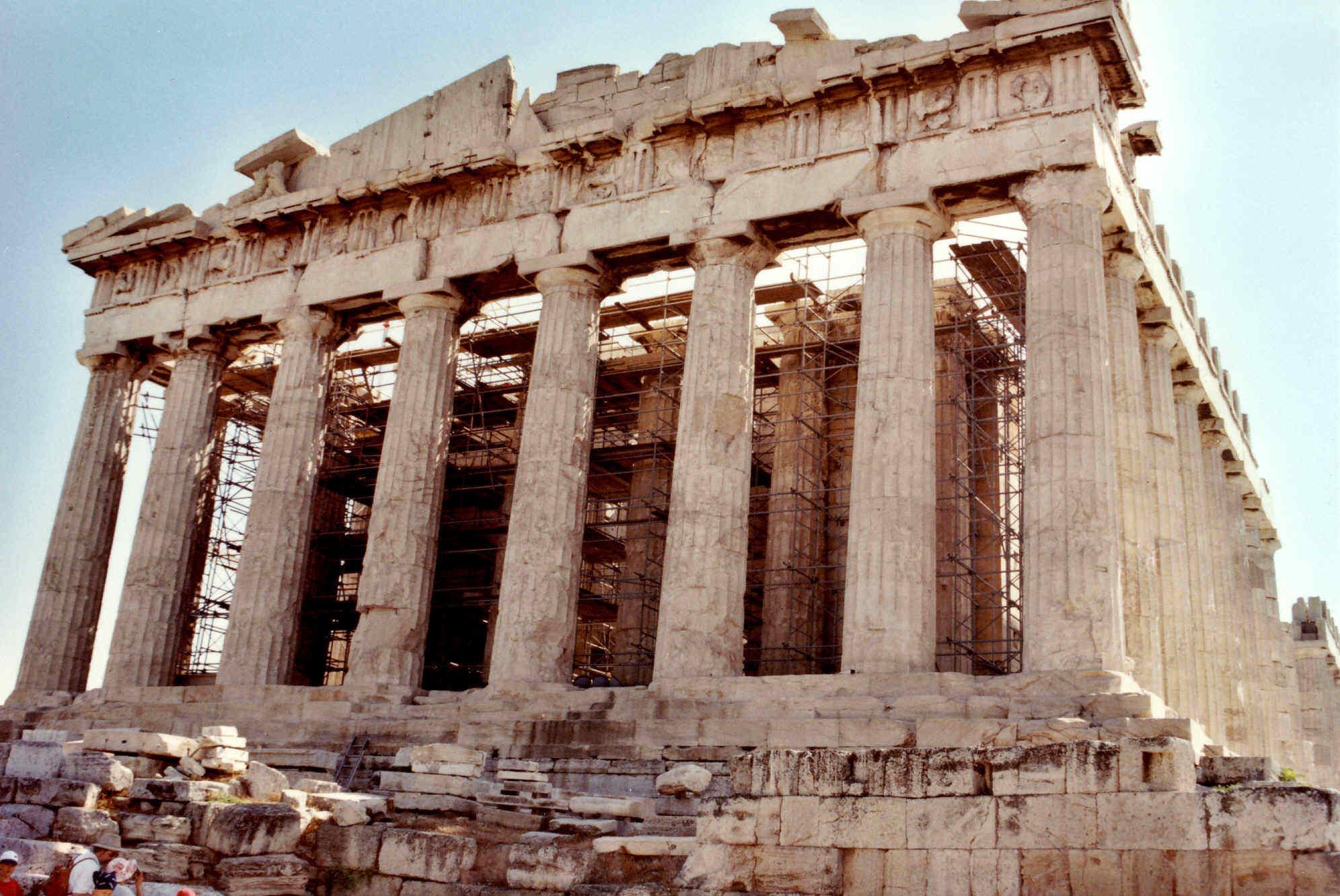 El Templo del Partenón 2 en la Grecia clásica 76