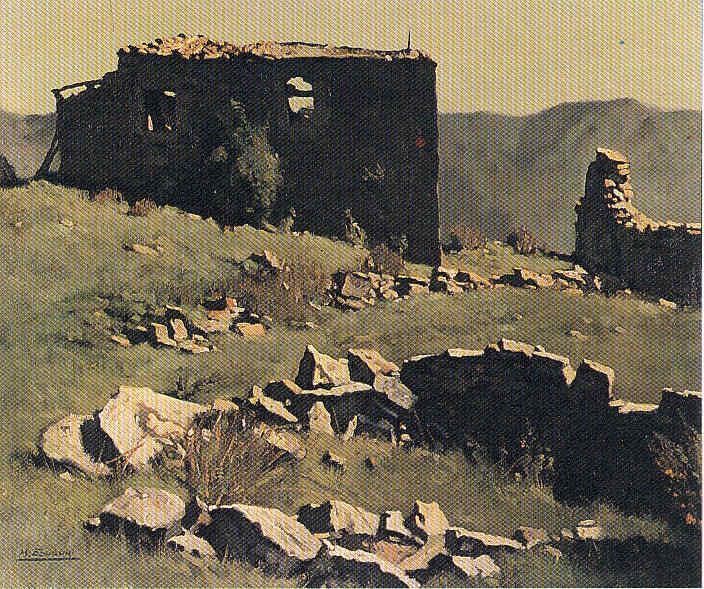 Miguel Ángel Echauri Pintores navarros 10 La Pintura 144