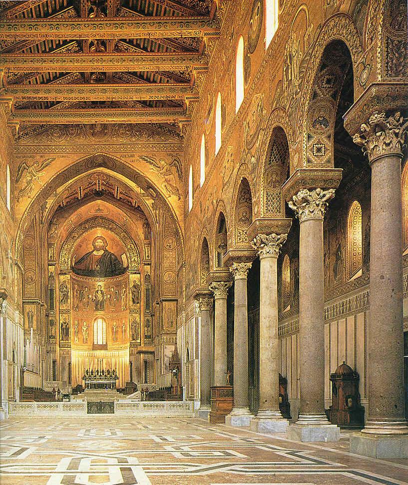 Techos románicos con artesonados y pinturas La Pintura 113