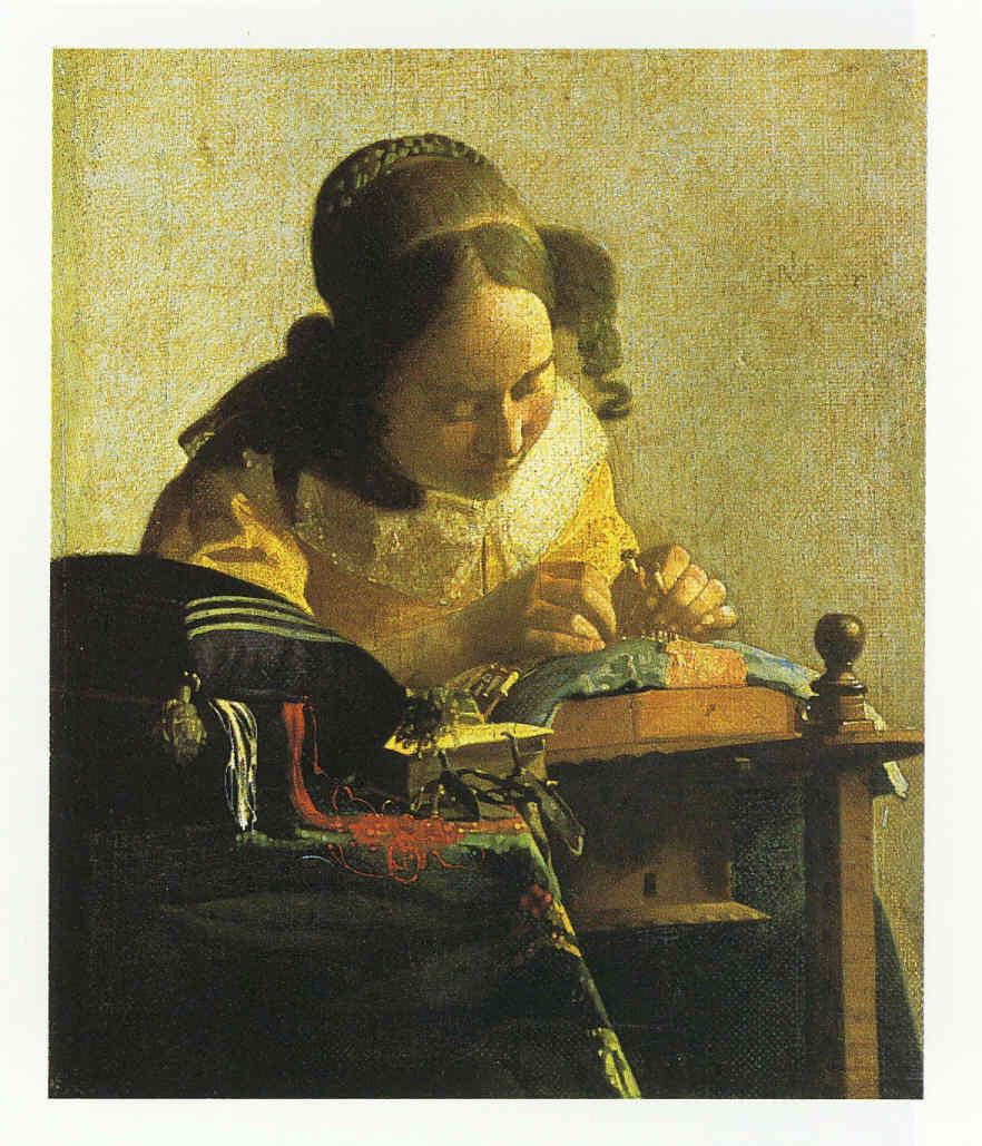 Jan Vermeer de Delft y sus retratos La Pintura 106