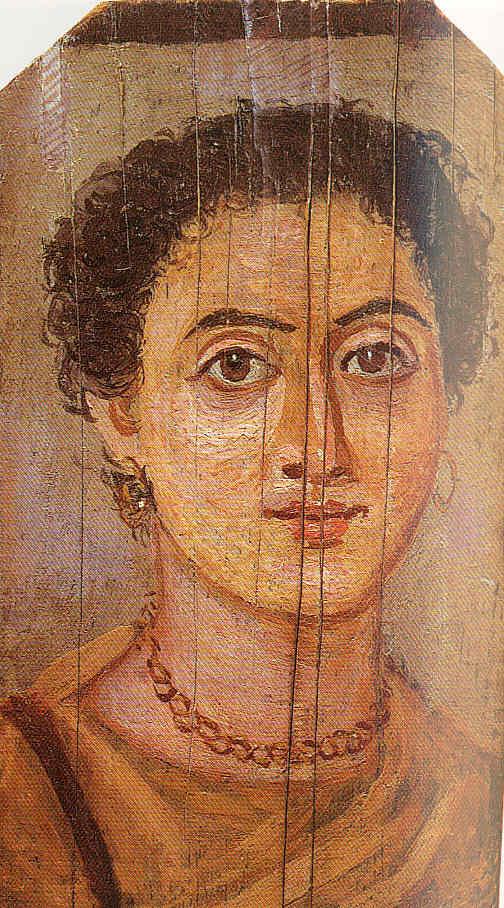 Pintura 7 Un retrato moderno de hace 20 siglos