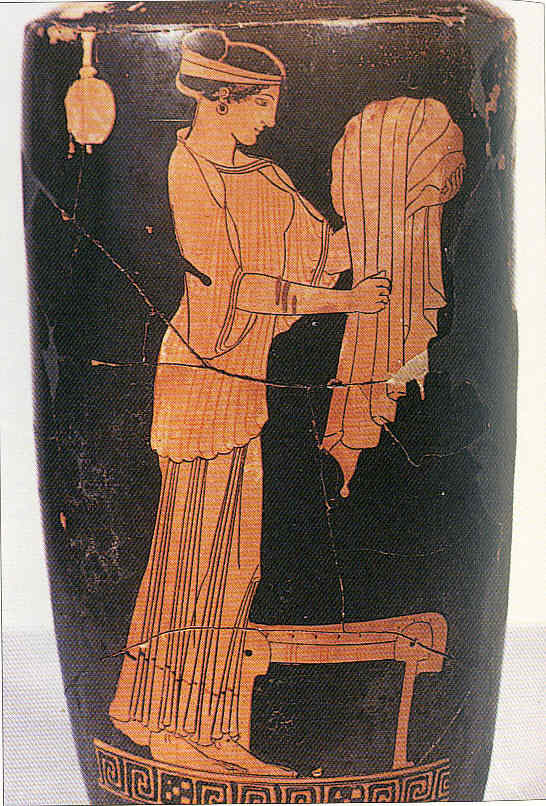 Pintura 6 Grecia imitando a Egipto