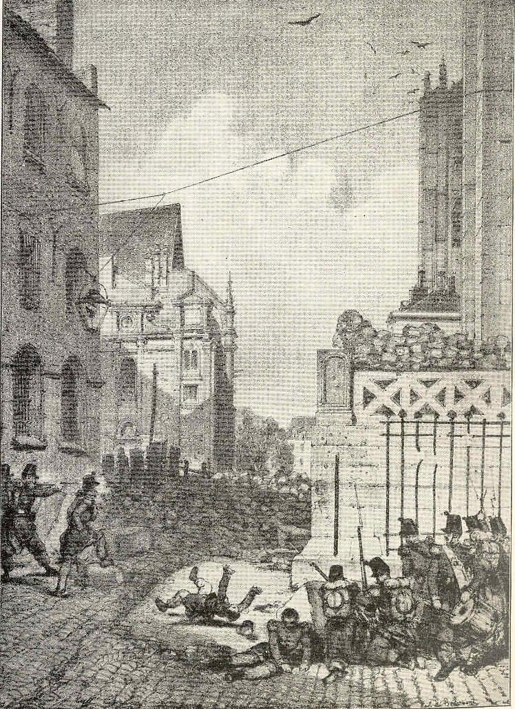 París 62 Abdicación La Segunda República Lamartine Tensiones Rebelión obrera