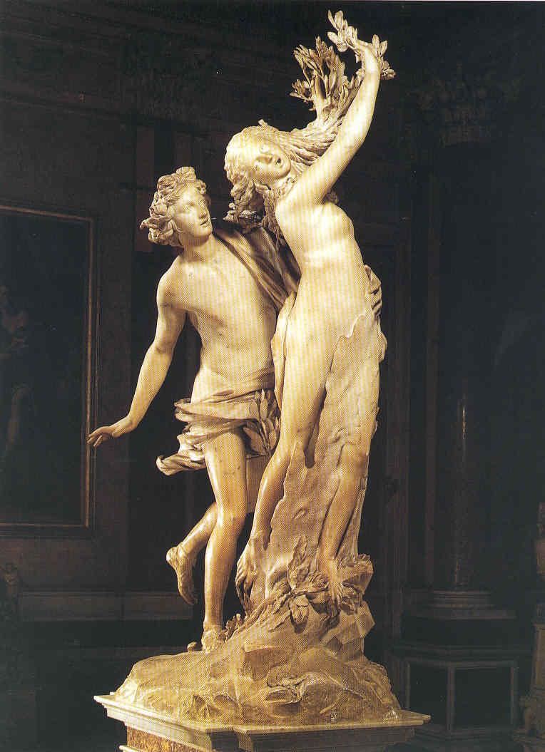El Transparente de Toledo Apolo y Dafne La Pintura 129