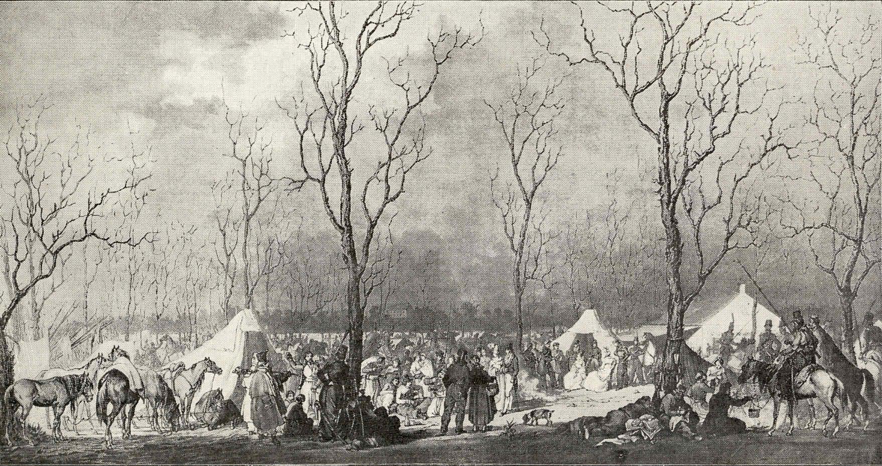 París 56 1814 Los aliados ocupan París Fontainebleau Luís XVIII