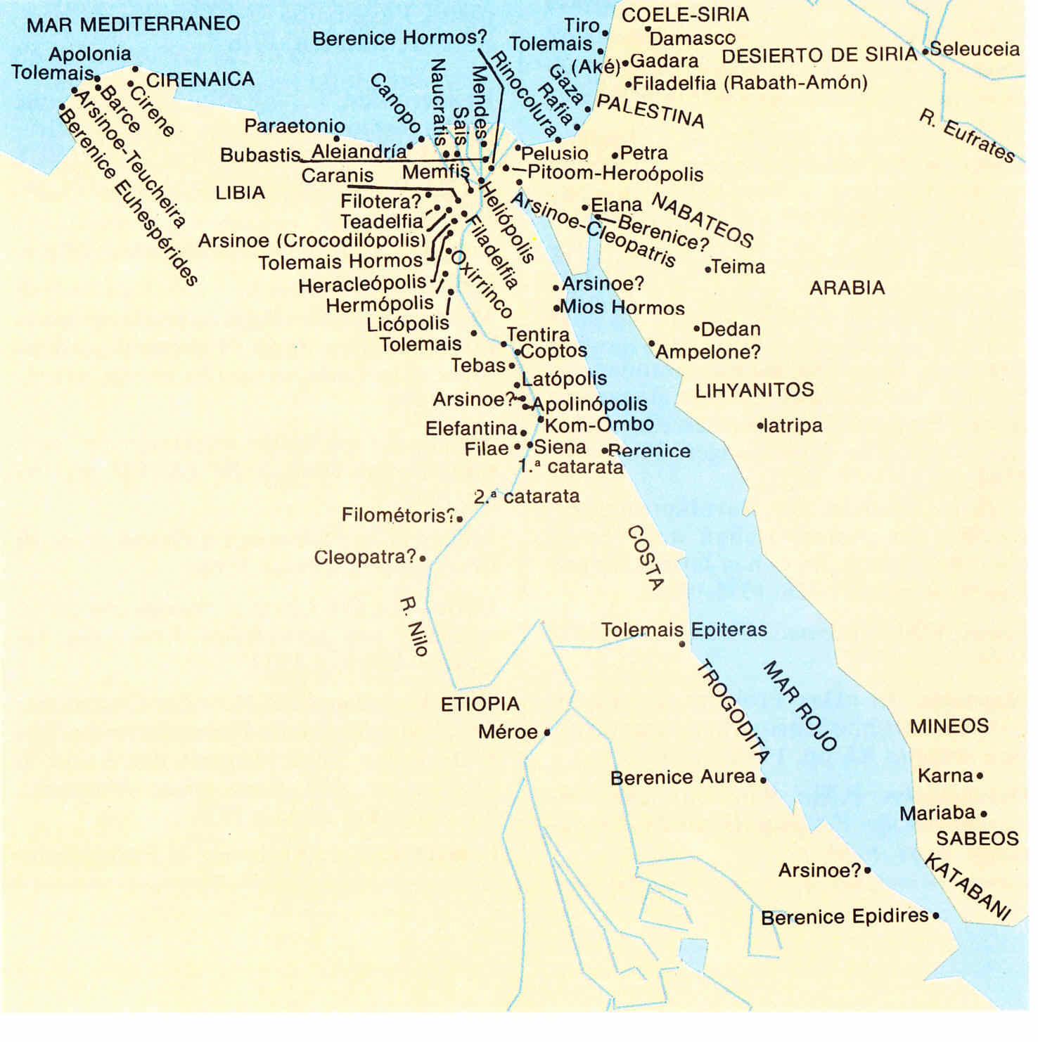 Egipto antiguo 22 y Ptolomeo II Filadelfo 6